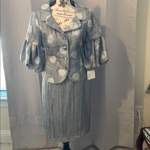 2 pc skirt and jacket.